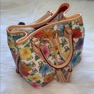 Dooney & Bourke Hibiscus Print Drawstring Bag